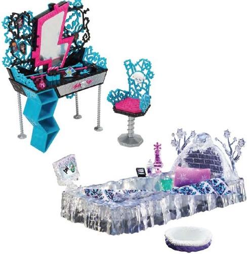 monster high tocador frankie o cama abbey en mercado libre. Black Bedroom Furniture Sets. Home Design Ideas