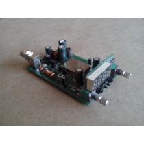 Placa Transmissor Fm Estéreo Digital 1w Pll