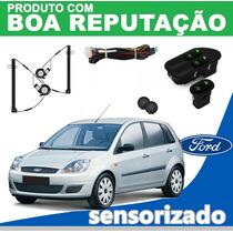 Kit Vidro Elétrico Fiesta 2005 4pts Para Dianteiras
