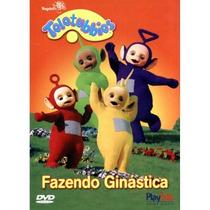 Dvd Teletubbies - Fazendo Ginástica