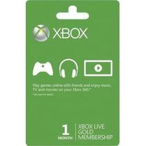 Xbox Live Gold 1 Mês - Leia A Descrição