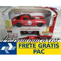 Corvette 1963 Maisto 1:24 Controle Remoto Frete + Brinde