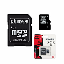 Memoria Micro Sd 8 Gb Sd Hc Kingston Celulares Camaras Psp