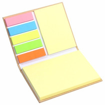 Libreta Ecológica Con Notas Adhesivas
