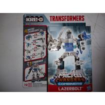 Transformers Kreo Microchangers Combiners Wars Lazerbolt