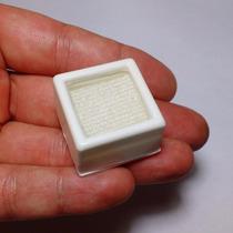 10 Caixas 2,5cm C/ Visor De Vidro P/guardar Jóias E Pedras