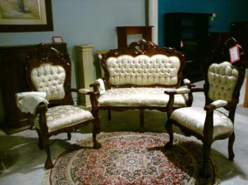 Salas luis xv recib victoria 2 1 1 fabricamos muebles hwo for Muebles antiguos luis xv