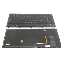 Teclado Notebook Sony Svf14n Frame Backlit Imuminado Win8