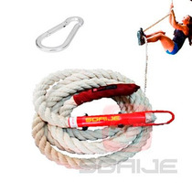 Cuerda Soga Trepar Crossfit Pro Gruesa Original Battle Climb