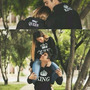 Sweater King And Queen Estampados Enamorados Parejas Novios