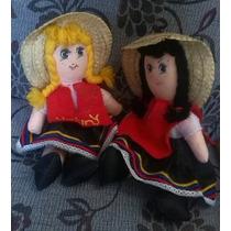 Muñecas De Trapo Niñas Originales