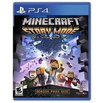 Minecraft: Modo Historia - Temporada Disco - Playstation 4
