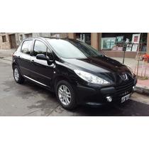 Peugeot 307 Xs Hdi 2.0 Mod: 2010 5 Puertas Color Negro