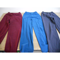 Lote 3 Pantalones Vestir Señora Talla M Mujer F539 Ropa