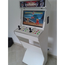 Mini Maquina Fliperama Arcade Multijogos Bartop + Pinball