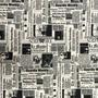 Tecido Jornal Gorgurinho Estampado 3m X1,40m Para Decoração