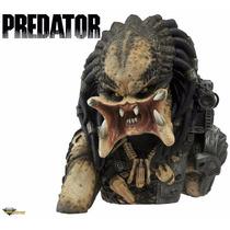 Busto Predador Cofre Para Moedas - Diamond Alien Avp