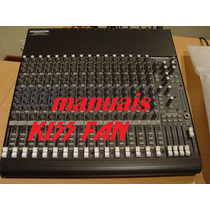 Manual Técnico (de Serviços) Mesa Mackie 1604-vlz