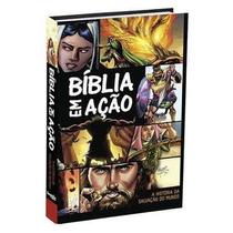 Bíblia Em Ação Kit Com 10 Bíblias Capa Dura