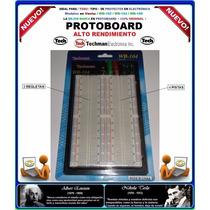 Protoboard Techman Usa / Modelo: Wb-104 / Original /