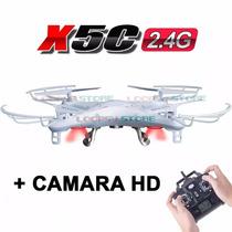 Drone Cuadricoptero X5c Cámara Hd- Filma- Saca Fotos- Oferta