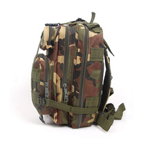 Mochila Tactica Tipo Militar Backpack Color Camo Clasico