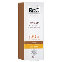 Minesol Roc Actif Unify Tinted Mousse Deep Fps30 Roc 40g