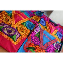Blusa Artesanal Bordada En Chiapas Set De 25 Piezas Mayoreo