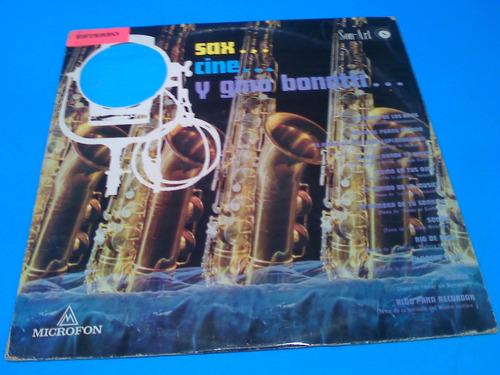 Gino Bonetti - Sax... Amor... Y Gino Bonetti...