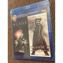 Blade Y Blade 2 Cazador De Vampiros Wesley Snipes Bluray