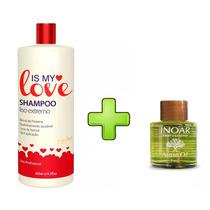 Is My Love Shampoo Alisante 500ml + Oleo Argan Inoar 7ml