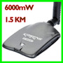 Adaptador Red Usb Wifi Kasens G9000 6000mw 18dbi Enviogratis