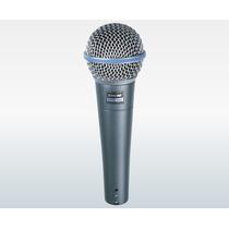 Kit Com 5 Peças Microfone Shure Beta 58a C/ Fio