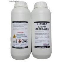 Liquido Limpia Cabezales Para Impresoras Epson, Hp Y Canon.
