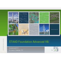 Staad Foundation Advanced Estructura Diseño De Fundaciones