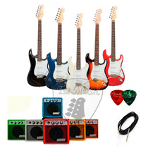 Combo Guitarra Electrica Stratocaster + Ampli 5w + Funda!