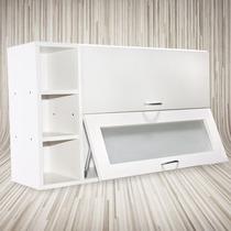 Unica Alacena 1mtx60x30-vidrio Esmerilado-cocina-muebles