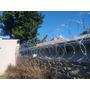 Seguridad Perimetral Alambres Concertinas Cruzada 450mm