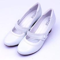 Sapato Feminino Boneca Neftali 4720 Branco Enfermagem