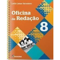 Livro Oficina De Redação 8º Ano Leila Lauar Sarmento