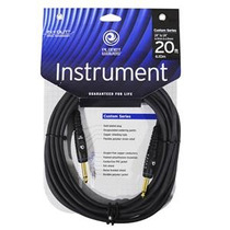 Planet Waves Cable Instrumentos Serie Custom 6.10 Mts Pwg20