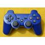 Control Inalambrico Recargable Bualshock 3 Azul De Ps3