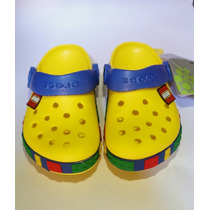Sandalias Crocs De Lego Para Niños