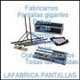 Pantalla Gigante Estructural Desarmable 4.00x3.00 12600