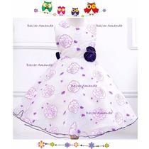 Vestido Niña Bautizo Matrimonio Cumpleaños Fiesta Bebé