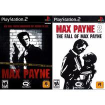 Max Payne 2 Para Playstation 2 (kit 2 Jogos Ps2 Tiro Guerra