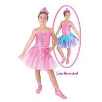 Fantasia Luxo Barbie E As Sapatilhas Mágicas