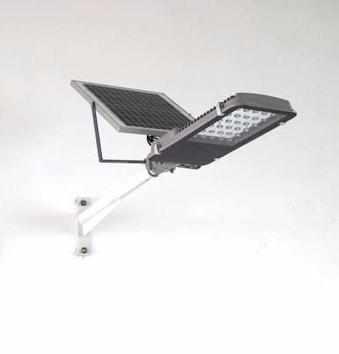 Lampara solar exterior y jardines 15w con panel incluido for Alumbrado solar exterior