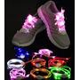 Trenza Led Nylon Cordones Con Luces Colores Zapato Deportivo