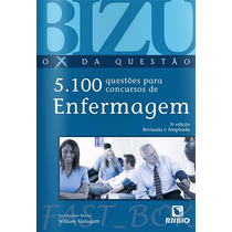 Bizu Enfermagem 5100 Questões Para Concursos - Malagutti